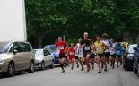 I Cursa de les Quatre Ermites de Ripoll Els corredors recorrent els primers metres de la cursa. Foto: Arnau Urgell