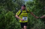 I Cursa de les Quatre Ermites de Ripoll Quim Merino, al seu pas pel Catllar. Foto: Mingo Gómez