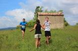 I Cursa de les Quatre Ermites de Ripoll Xavier Muñoz i Àngel Àlvarez, al seu pas per Sant Roc. Foto: B&B Sports