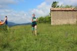 I Cursa de les Quatre Ermites de Ripoll Anna Capdevila, al seu pas per Sant Roc. Foto: B&B Sports