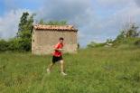 I Cursa de les Quatre Ermites de Ripoll Cesc Maideu, al seu pas per Sant Roc. Foto: B&B Sports