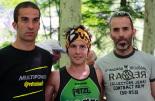 I Cursa de les Quatre Ermites de Ripoll Aleix Fàbregas, Marc Caròs i Joan Planas, el trio organitzador de la prova. Foto: Arnau Urgell