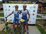 La Transpyr més ripollesa Pau Zamora i Joan Llordella a Camprodon. Foto: FotoEsportBCN/Transpyr