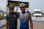 La Transpyr més ripollesa Pau Zamora i Joan Llordella a Sant Sebastià. Foto: FotoEsportBCN/Transpyr
