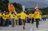 La Via Catalana, a Pont de Molins