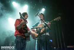 Concert d'Allah-Las a la sala Apolo (Barcelona) Mapache and Tim Hill