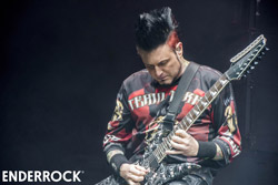 Concert de Five Finger Death Punch i In Flames al Sant Jordi Club <p>Five Finger Death Punch</p><p>F: Xavier Mercadé</p>