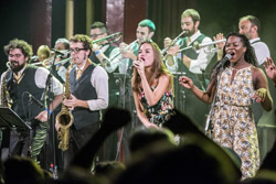 Concert de The Gramophone Allstars Big Band a la sala Apolo