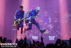 Concert de The Toy Dolls i Crim a la sala Razzmatazz de Barcelona The Toy Dolls