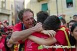 El Nàstic celebra l'ascens amb l'afició