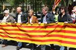 1 de maig a Girona Representants d'ICV, del PSC i d'ERC de les comarques gironines també han pres part a la manifestació d'aquest Primer de Maig a Girona
