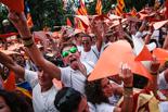Diada Nacional 2015: garrotxins a la Via Lliure