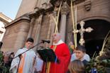Setmana Santa a la Garrotxa, 2014 Benedicció de les palmes