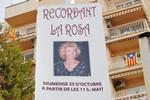 Homenatge a Rosa Mora a Terrassa