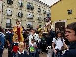 Bateig dels gegants de l'Escola Pia de Moià