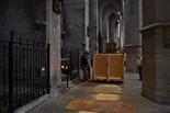 Arribada del sepulcre del Canonge Mulet a la Seu