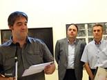 Inauguració de l'exposició del concurs d'artistes manresans
