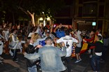 Celebració de la Champions del Reial Madrid a Manresa