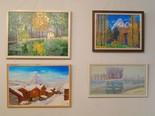 Exposició alumnes de pintura de Moià