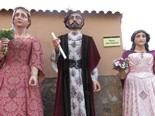 Trobada de gegants centenaris a Monistrol de Montserrat