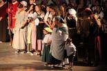Recreació de la crema de Manresa a mans de Felip V
