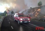 Incendi d'Òdena / Castellfollit del Boix, 2015