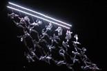 Xarxa humana de la Fura dels Baus en els 50 anys d'Ampans