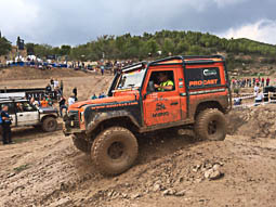 Land Rover Party a les Comes, 2016