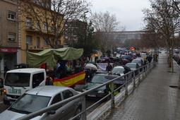 Manifestació espanyolista de Manresa