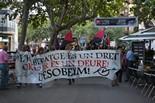 Manifestació i ocupació del bloc dels Dolors per la PAHC