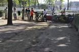 Reparació del pati de l'escola d'Ampans