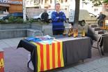 Sant Jordi a la Plaça Catalunya de Manresa, 2013