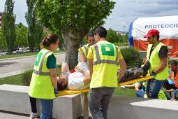 Simulacre d'emergències d'UManresa 2018