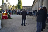 Trasllat de les restes de Joaquim Amat-Piniella a Manresa