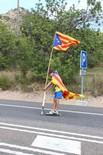 El Bages a la Via Catalana a l'Hospitalet de l'Infant (2)