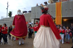 La Patum 2014: Patum de la Llar Santa Maria de Queralt 2014