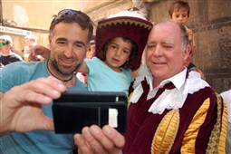 La Patum 2015: Ple l'Ascensió i sortida del Tabal
