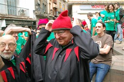 La Patum 2015: 125 anys de la Guita Xica i Quatre Fuets