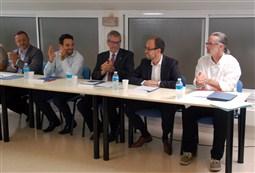 Ple de constitució del Consell Comarcal del Berguedà