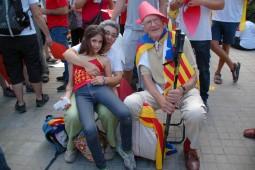 Via Catalana a la Meridiana (11 de setembre)