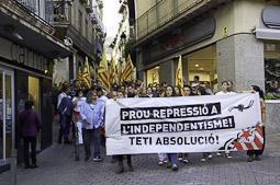 Manifestació de Suport a Sergi Rodríguez Teti