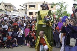 La Patum 2016: Patum de Llar Santa Maria de Queralt