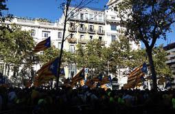 Diada Nacional de Catalunya 2017: tram berguedà