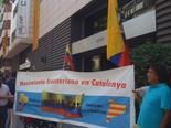 Manifestació 10-J: les fotos dels ciutadans Equatorians a la manifestació. Foto: Xavier Bosch