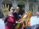 Manifestació 10-J: les fotos dels ciutadans Els santjoanins Carles Martínez i Carles Bassaganya