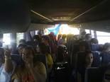 Manifestació 10-J: les fotos dels ciutadans Autobusos del Bages. Foto: Joan Fernàndez