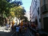 Manifestació 10-J: les fotos dels ciutadans La riera de Sant Miquel plena de gent