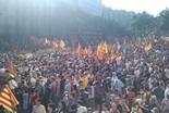 Manifestació 10-J: les fotos dels ciutadans El passeig de Gràcia ple. Foto: Adrià Costa