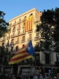 Manifestació 10-J: les fotos dels ciutadans Estelades al passeig de Gràcia. Foto: Mireia Hernàndez
