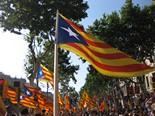Manifestació 10-J: les fotos dels ciutadans Estelades al passeig de Gràcia. Foto: Antoni Rodriguez